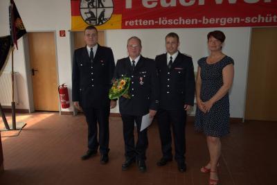 30 Jahre Mitgliedschaft B. Godglück