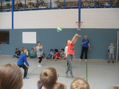 Foto zur Meldung: TuS Elsdorf- Volleyball-Pausenliga 2016