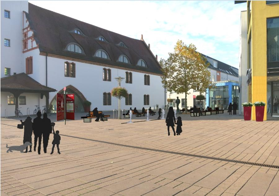 fürstenwalde/spree - facelifting für unseren marktplatz: einladung, Einladung