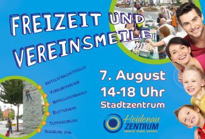Foto zur Meldung: Am 7. August ist wieder Freizeit- und Vereinsmeile!
