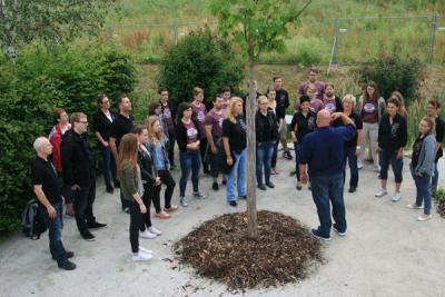 Foto zur Meldung: Jugend auf der LGS Bayreuth - ein voller Erfolg!