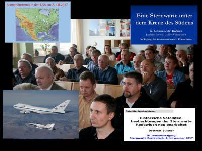 Foto zu Meldung: 27. Tagung der Amateurastronomen Westsachsens