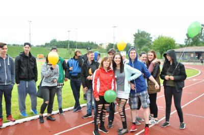 Foto zur Meldung: Mitorganisation Behindertensportfest