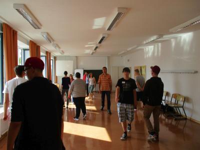 Foto zur Meldung: Berufsvorbereitung Theater für Verkehrserziehung