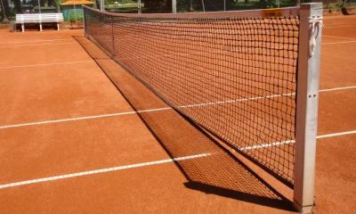 Foto zur Meldung: Tennis (Herren 40) - Chancenlos in Stuttgart-Sillenbuch