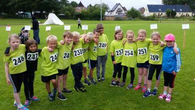 Foto zur Meldung: Mannschaften der Schule im Grünen Großsolt erfolgreich beim Südenseelauf