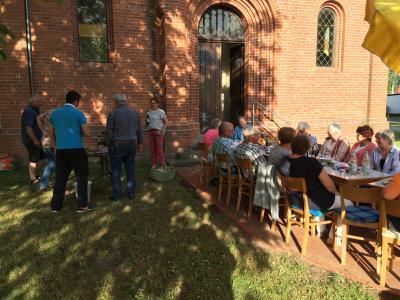 Vorschaubild zur Meldung: Wochenschlussgottesdienst in Hinsdorf