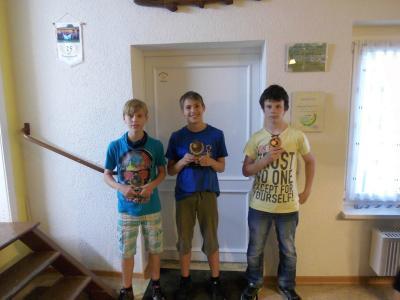 Foto zur Meldung: Offenes Schüler und Jugendhegefischen