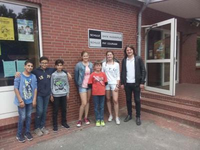 """Foto zur Meldung: Verabschiedung von Janne und Maria vom Team """"Willkommen in Elmshorn"""""""