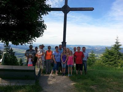 Foto zur Meldung: Kurzausflug des Dorfvereins zum Hohenbogen