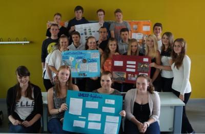 Foto zur Meldung: Klasse 10a arbeitet für UNESCO