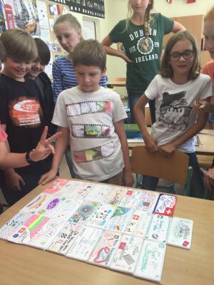 Foto zur Meldung: Kreatives Gestalten im PB-Unterricht