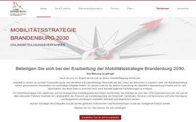 Foto zur Meldung: Beteiligen Sie sich bei der Erarbeitung der Mobilitätsstrategie Brandenburg 2030