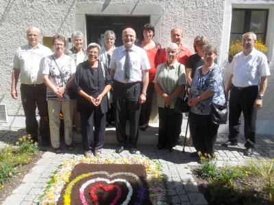 Foto zu Meldung: Pfarrer Johann Christian Rahm feiert 25-jähriges Priesterjubiläum in Aiterhofen