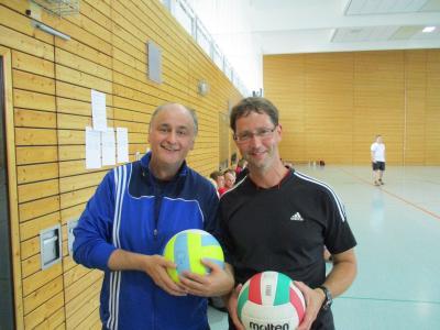 Foto zur Meldung: Volleyballturnier 1. Lehrjahr Abteilung 1