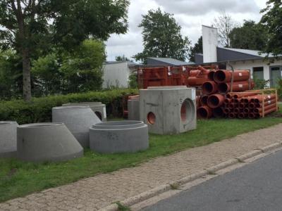 Foto zur Meldung: Sanierung des Regenwasserkanals