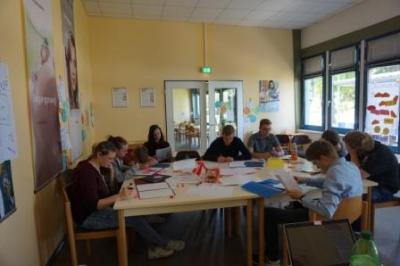 Foto zur Meldung: Bewerbungstraining Klasse 9