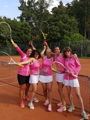 Foto zur Meldung: Tennis (Damen 40) - Salzstetten mit Aufstieg in die Verbandsstaffel