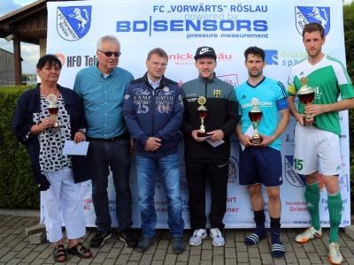 Foto zu Meldung: SV Mitterteich gewinnt BD-Sensors-Cup