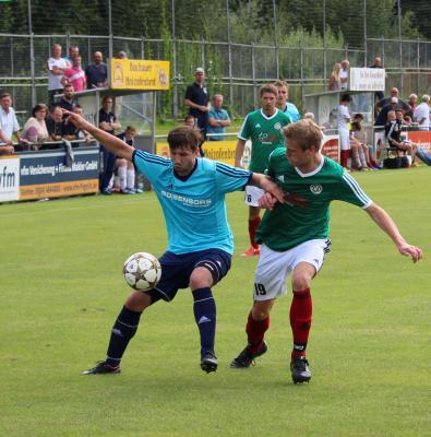 Foto zu Meldung: Landesliga-Sasion 2016/17: ASV Pegnitz - FC Vorwärts 0:0