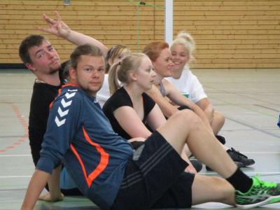 Foto zur Meldung: Volleyballturnier 2. Lehrjahr Abt. 1