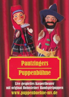 Foto zur Meldung: Peenecamp - Pautzingers Puppenbühne