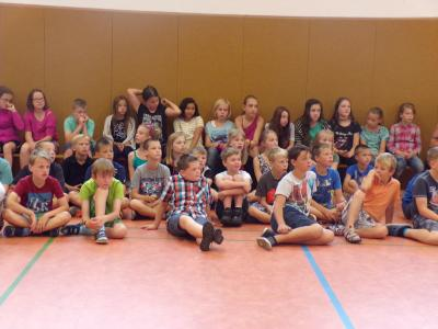 Foto zur Meldung: Verabschiedung 4. Klassen