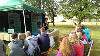 Vorstellung der Grünen Berufe durch Regionalmitarbeiterin Martina Finkel