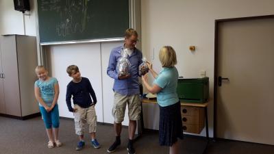 Foto zur Meldung: Der letzte Schultag