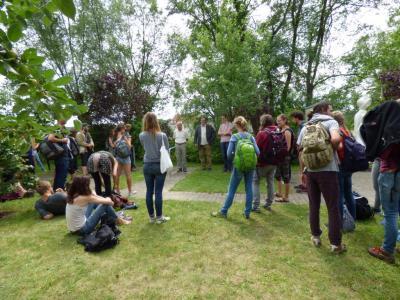 Dr. Hübner empfängt Studierende der HNE Eberswalde in Möglin