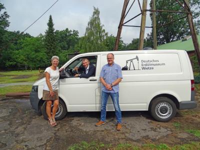 Foto zur Meldung: EMPG spendet dem Museum VW-Transporter