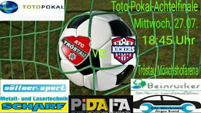 Foto zu Meldung: ATG vs. Kickers Selb Toto Pokal Achtelfinale