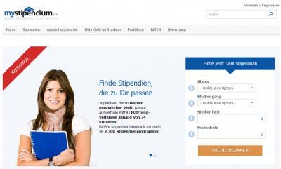 Foto zu Meldung: Stipendien über www.myStipendium.de