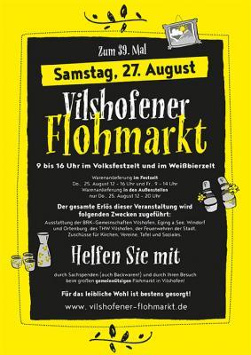 Vorschaubild zur Meldung: 39. Vilshofener Flohmarkt