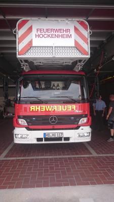 Foto zu Meldung: Besuch der FFW Hockenheim