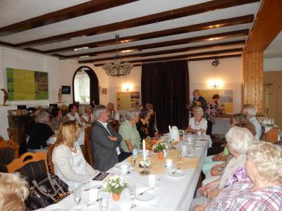 Foto zur Meldung: Kulturhaus nach Sommerpause wieder geöffnet - Diabetiker feierten Jubiläum