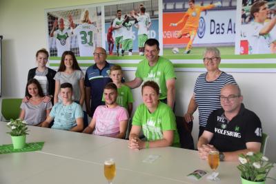 Foto zur Meldung: BramwaldWölfe in der VfL-Fussballwelt