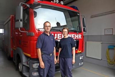 Foto zur Meldung: Ein starkes Duo für die Feuerwehr