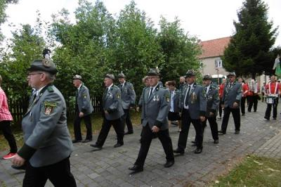 Foto zur Meldung: Dorf- und Schützenfest OT Friedrichsaue 2016
