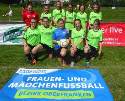 Foto zur Meldung: U 15 Juniorinnen beim oberfränkischen Sparkassencup