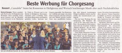 Pressemeldung Konzert 2016