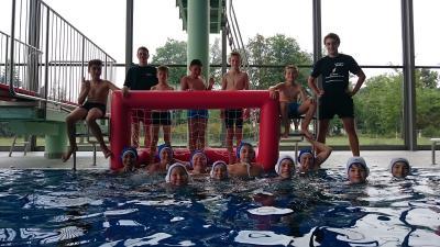 Foto zu Meldung: Wasserball Sportferienwoche