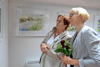 "Foto zu Meldung: Ausstellung ""Abenteuer Farbe"" eröffnet"