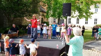 """Foto zur Meldung: Theaterfest: MTV Turnzwerge und der """"Turntiger"""""""