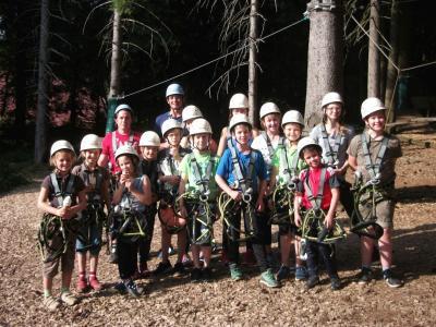 Foto zu Meldung: Ferienprogramm bei den Edelweißschützen