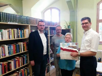 Foto zu Meldung: Bundestagsabgeordneter Christian Hirte auf Sommertour in Kaltennordheim