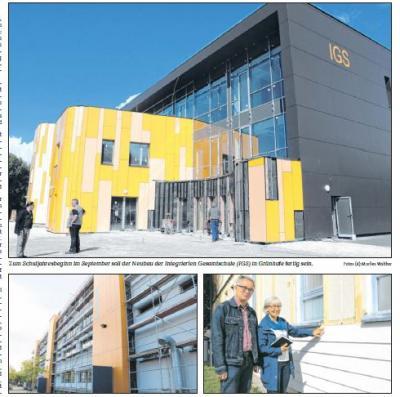 Foto zur Meldung: Stralsund macht die Schulen schick