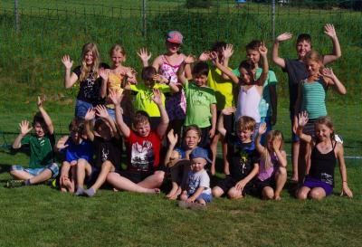 Foto zur Meldung: Der SV –Moosbach organisierte Ferienprogramm