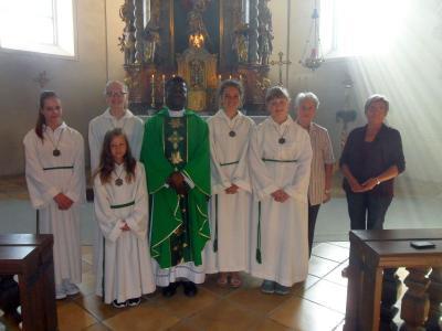 Foto zur Meldung: Urlaubsvertretung im Monat August in der Pfarrei