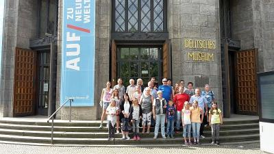 Foto zur Meldung: Wissenswertes im Deutschen Museum erfahren